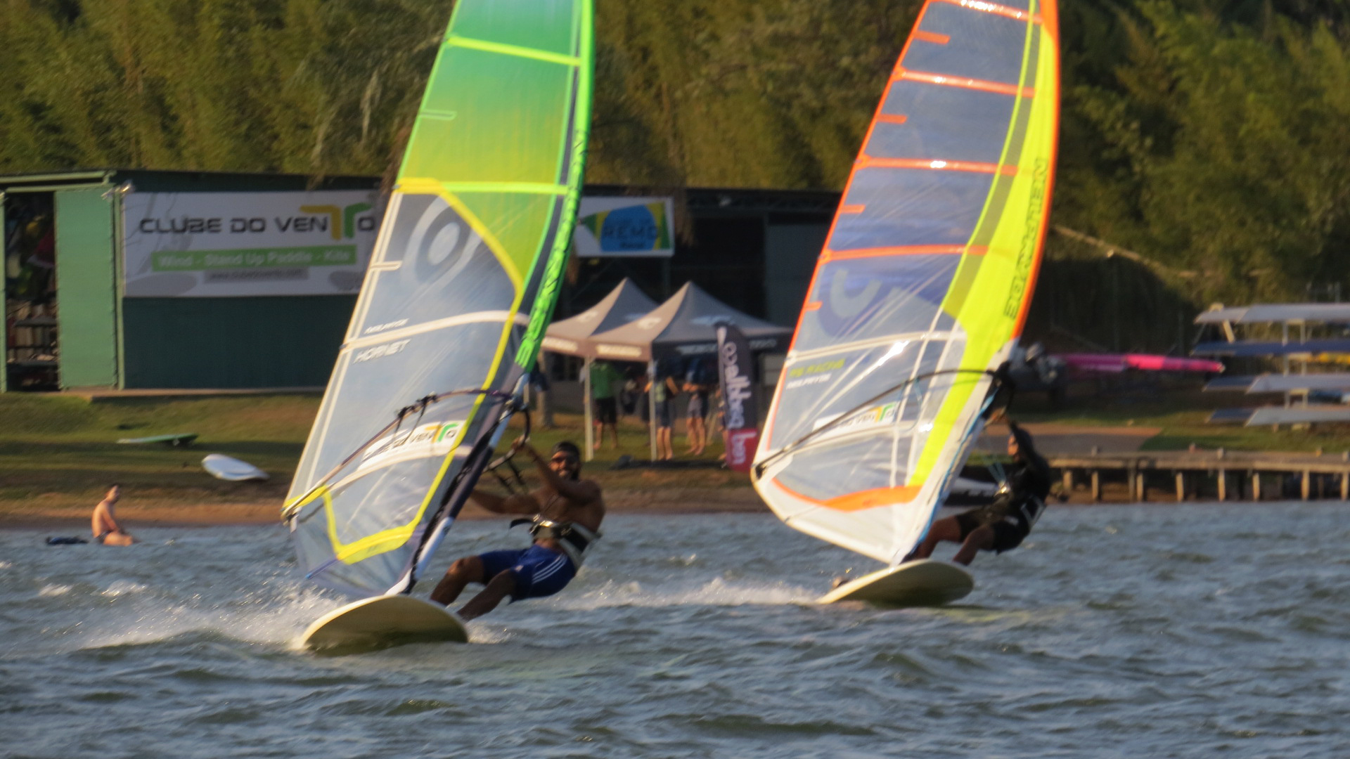 Windsurf no Clube do Vento